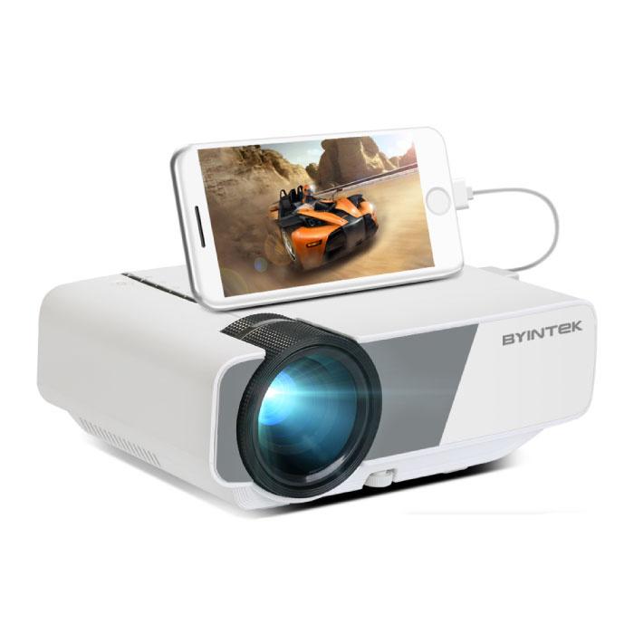 Sky K1 Plus LED-Projektor - Beamer Home Media Player