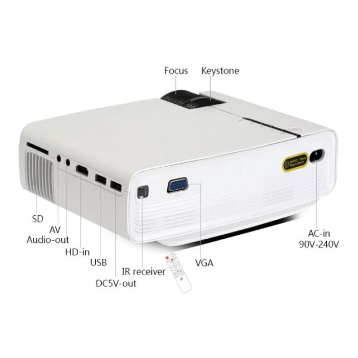 BYINTEK Sky K1 plus Projecteur LED - Projecteur Accueil Lecteurs