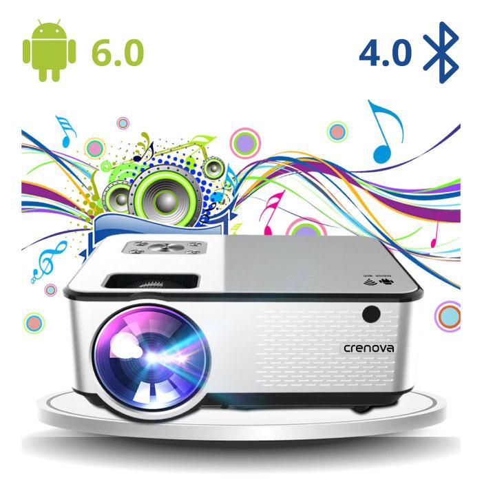 C9 LED Projector met Android en Bluetooth - Beamer Home Media Speler