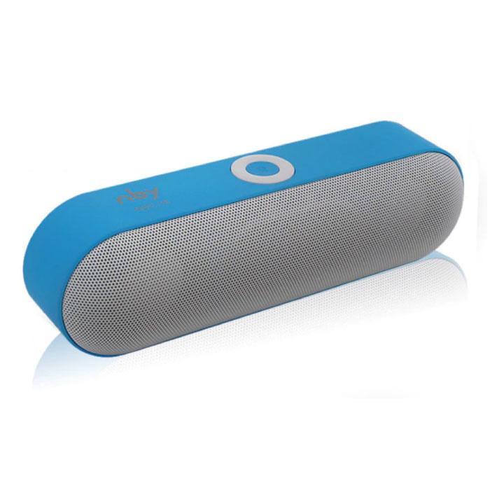 BNY-18 Mini haut-parleur sans fil Bluetooth Soundbar Wireless Speaker Box 3.0 Bleu