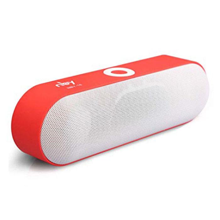 NBY-18 Mini haut-parleur de barre de son sans fil Boîte de haut-parleur sans fil Bluetooth 3.0 rouge