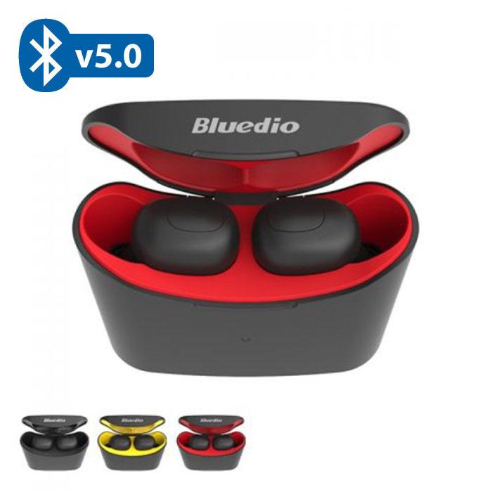 T-Elf Mini TWS Draadloze Bluetooth 5.0 Oortjes Air Wireless Pods Earphones Earbuds Rood