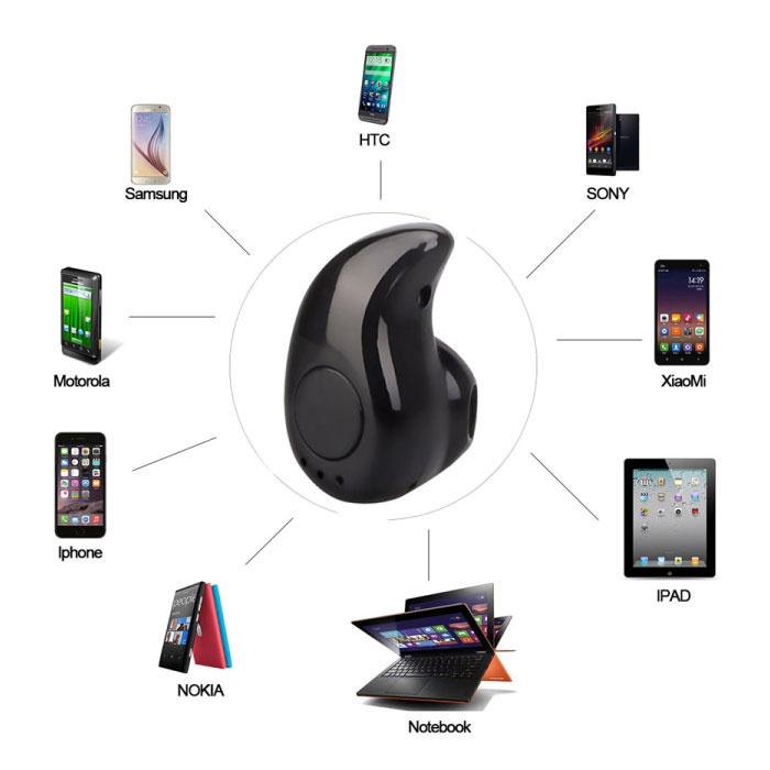 FORNORM S530 Mini TWS Draadloos Bluetooth 4.0 Oortje Air Wireless Pod Earphone Earbud Wit
