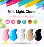FORNORM S530 Mini TWS Draadloos Bluetooth 4.0 Oortje Air Wireless Pod Earphone Earbud Blauw