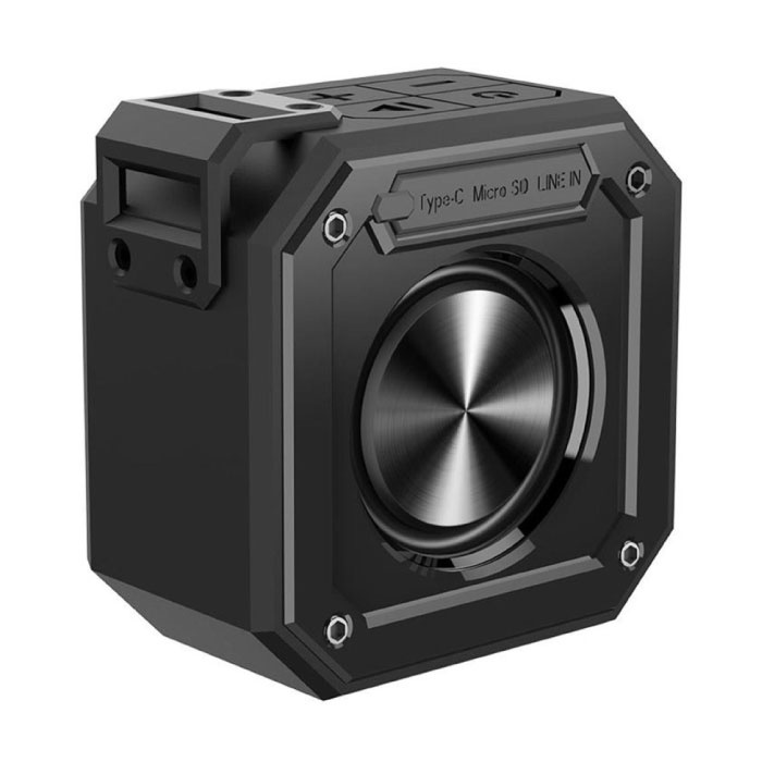 Groove Wireless Soundbar Speaker Box sans fil Bluetooth 4.2 Speaker Box noir