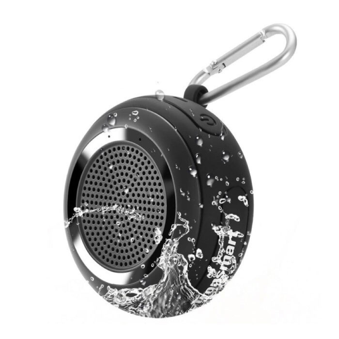 Splash Wireless Soundbar Speaker Box sans fil Bluetooth 4.2 Speaker Box noir