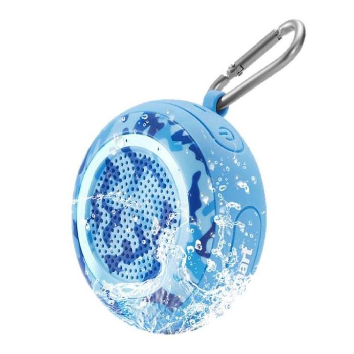Splash Wireless Soundbar Speaker Box sans fil Bluetooth 4.2 Speaker Box Bleu