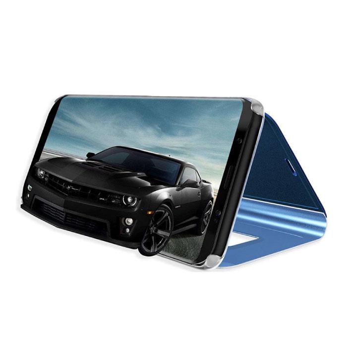 Stuff Certified ® Samsung Galaxy S9 Smart Mirror Flip Case Cover Case Purple