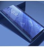 Stuff Certified ® Samsung Galaxy S8 Plus Smart Spiegel Flip Case Cover Hoesje Paars