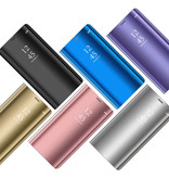 Stuff Certified ® Samsung Galaxy S8 Plus Smart Spiegel Flip Case Cover Hoesje Zilver