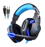 Kotion Each EACH G2000 Stereo Gaming Headset Headset Headphones with Microphone Blue