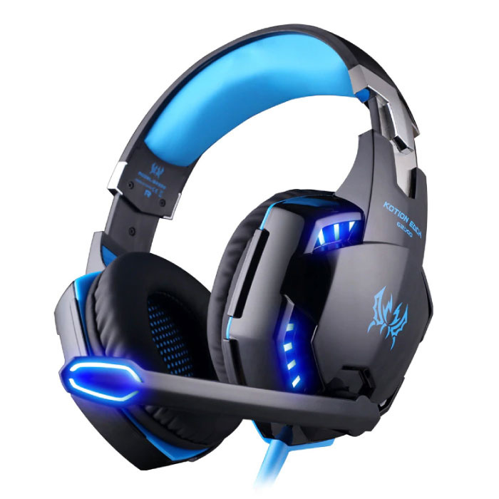 Kotion EACH G2000 Stereo Gaming Headset Headset Headphones with Microphone Blue
