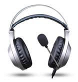 NUBWO N2 Stereo Gaming Koptelefoon Headset Headphones met Microfoon Zilver