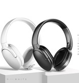 Baseus Encok D02 Bluetooth Wireless Headset with Microphone Wireless Headphones Stereo Gaming White