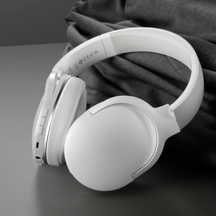 Encok D02 Wireless Bluetooth Headphones with Microphone Wireless Headphones Stereo Gaming White