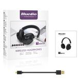 Bluedio TM Draadloze Koptelefoon Bluetooth Wireless Headphones Stereo Gaming Zwart
