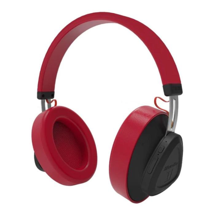 TM Wireless Headphones Bluetooth Wireless Headphones Stereo Gaming Red