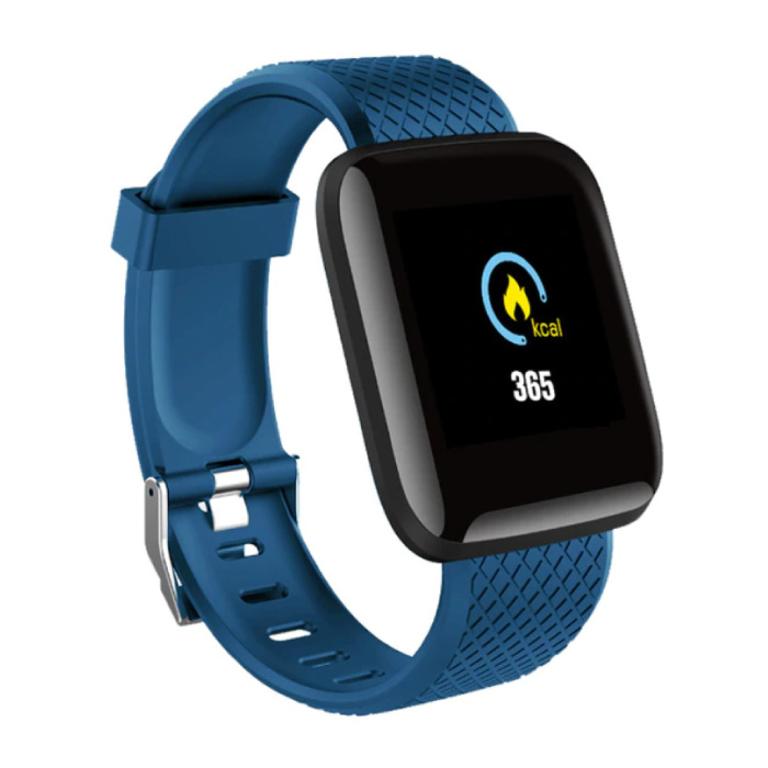 Sport SmartWatch BIONIC Fitness X1 Sports Activity Tracker Smartphone Regarder iOS iPhone Android Samsung Huawei Bleu