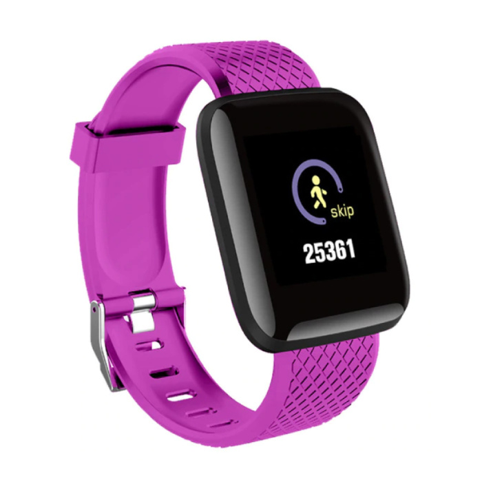 Sport SmartWatch BIONIC Fitness X1 Sports Activity Tracker Smartphone Regarder iOS iPhone Android Samsung Huawei Rose