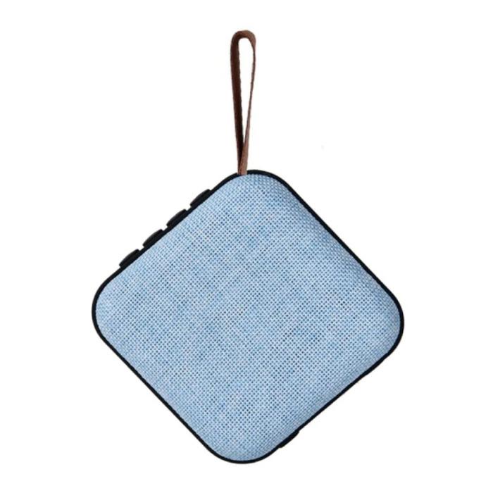 Drahtloser Lautsprecher Externer Lautsprecher Drahtloser Bluetooth 4.2-Lautsprecher Soundbar Box Blau