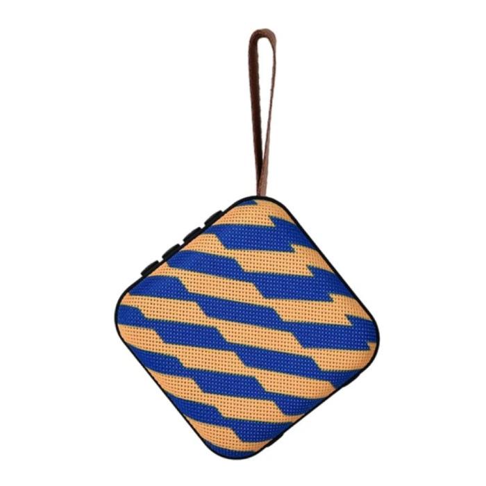 Drahtloser Lautsprecher Externer Lautsprecher Drahtloser Bluetooth 4.2-Lautsprecher Soundbar Box Orange Blau