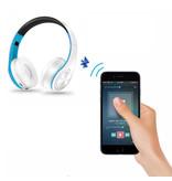 ZAPET Sans fil Bluetooth casque sans fil Casque stéréo Gaming Rose-Blanc