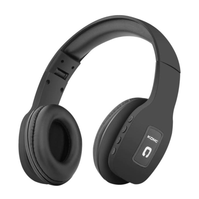 Casque sans fil Bluetooth Casque sans fil Stéréo Gaming Noir
