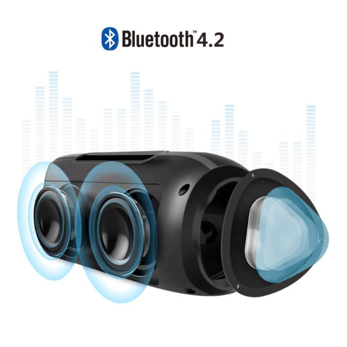 NBY Wireless Loudspeaker External Speaker Wireless Bluetooth 4.2 Speaker Soundbar Box Black - Copy