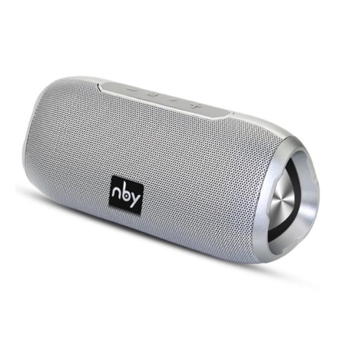 Draadloze Luidspreker Externe Speaker Wireless Bluetooth 4.2 Speaker Soundbar Box Zilver