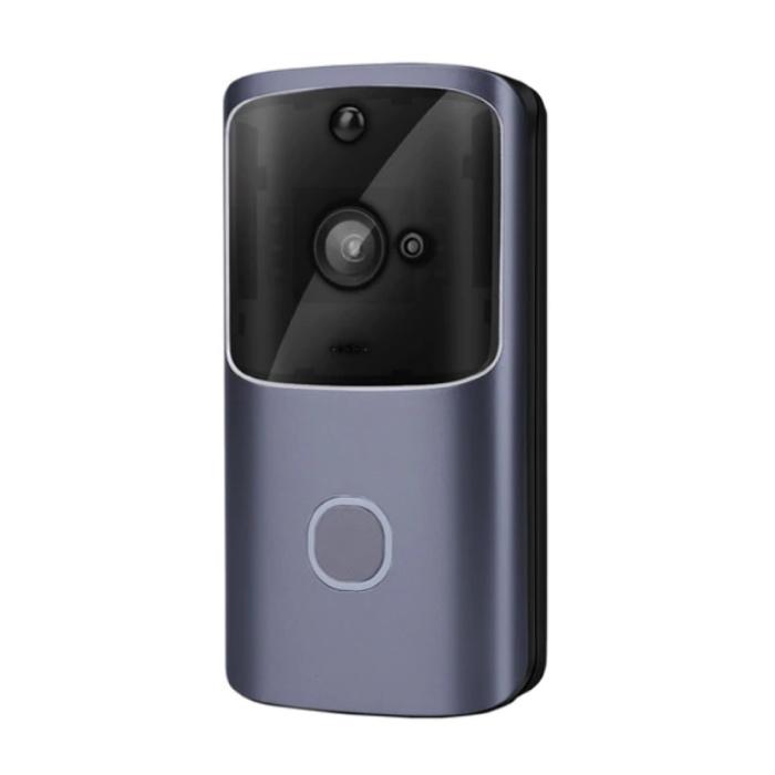 Türklingel mit Kamera und WiFi - Intercom Wireless Smart Home Sicherheitsalarm IR Nachtsicht