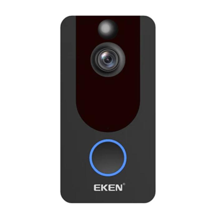 Y7 Sonnette avec caméra et une connexion Wi - Sans fil Smart Home Sécurité Alarme IR vision nocturne
