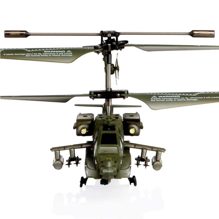 S109G Mini RC Drone Beast Apache Attack Helicopter Toy with Gyro Stabilization