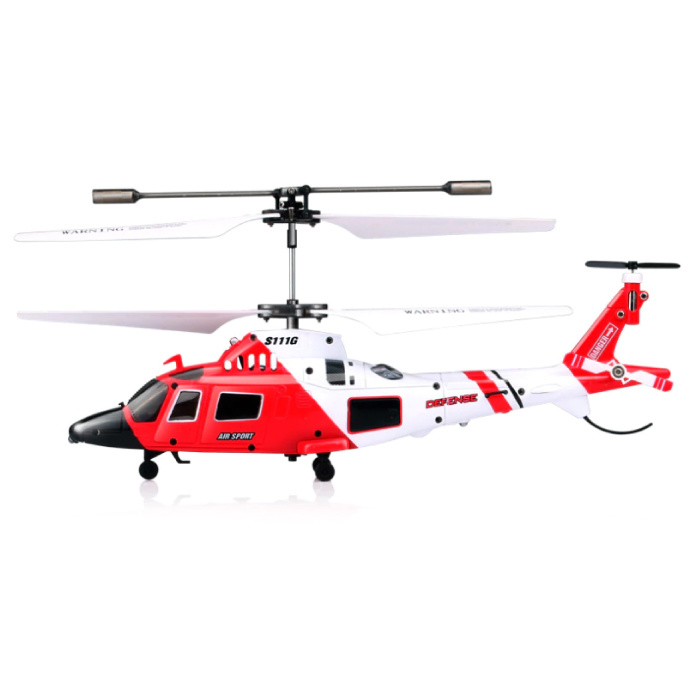 S111G Mini RC Helicopter Drone Marine Toys avec gyro stabilisation