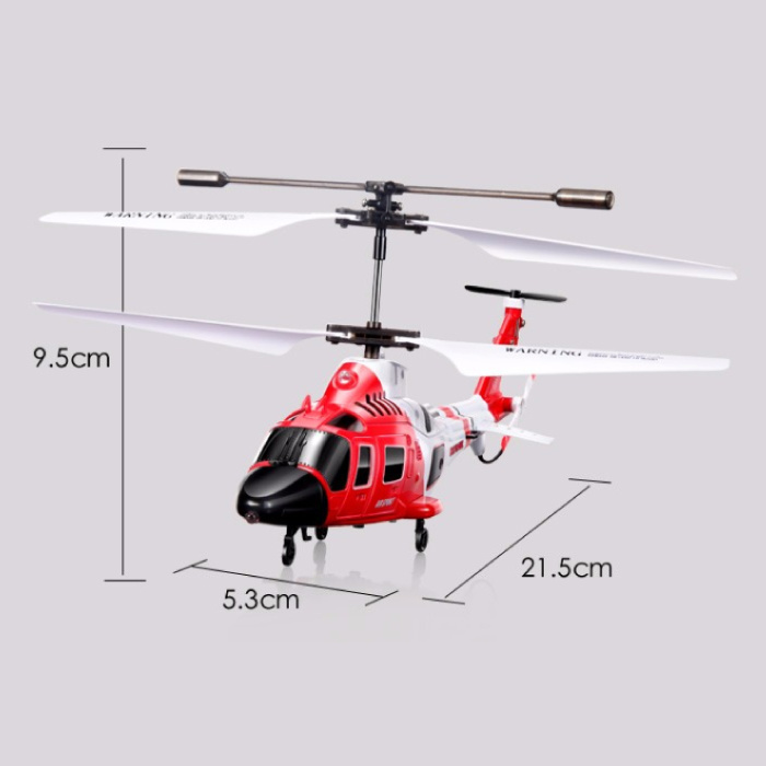 Syma S111G Mini RC Drone Marine Helicopter Toy with Gyro Stabilization