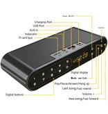 TOPROAD HiFi Draadloze Luidspreker Externe Speaker Wireless Bluetooth 3.0 Speaker Soundbar Box Zwart