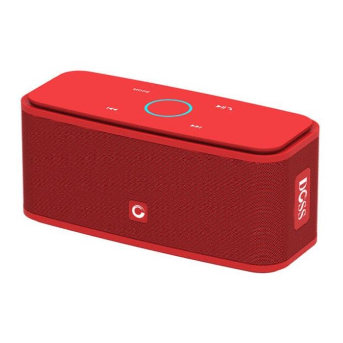 Bluetooth 4.0 sans fil Haut-parleur externe Soundbox Haut-parleur sans fil rouge