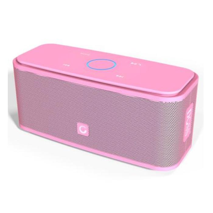 Bluetooth 4.0 sans fil Haut-parleur externe Soundbox Haut-parleur sans fil rose