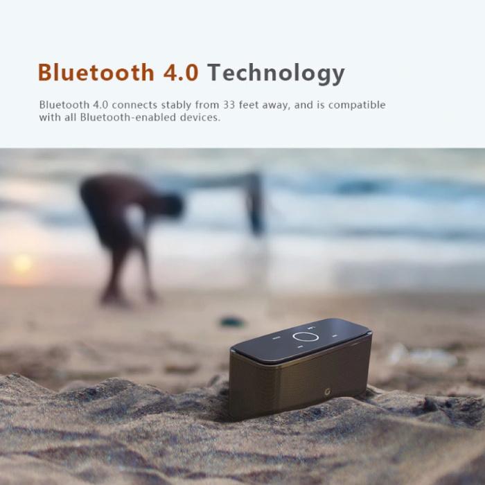 Doss Bluetooth 4.0 Soundbox Draadloze Luidspreker Externe Wireless Speaker Wit
