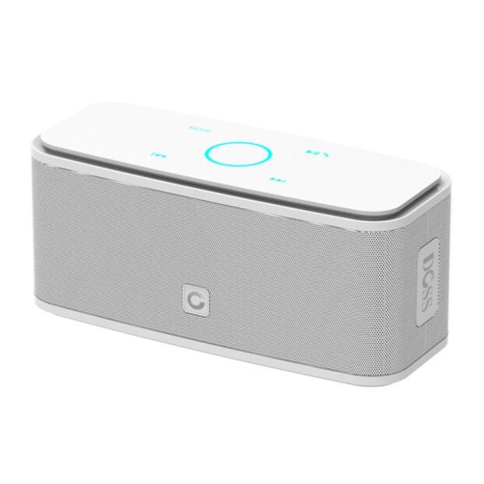 Bluetooth 4.0 sans fil Haut-parleur externe Soundbox Haut-parleur sans fil blanc