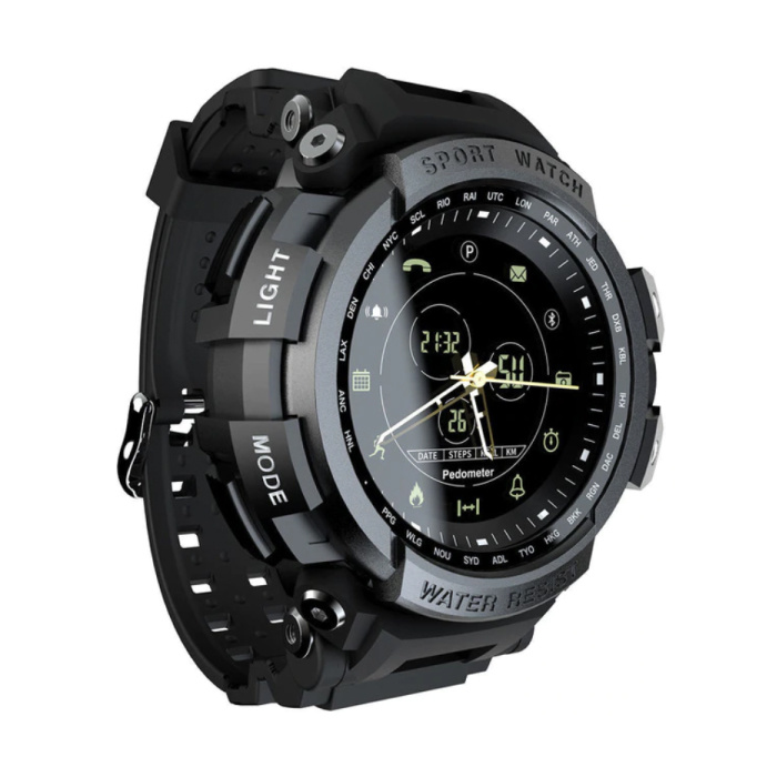 Z2 / MK28 étanche Sport Smartwatch Fitness activité Tracker Smartphone montre iOS Android iPhone Samsung Huawei noir