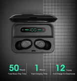 CBAOOO F3 Earbuds TWS Draadloze Smart Touch Control Oortjes Bluetooth 5.0 Air Wireless Pods Earphones Earbuds 3000mAh Powerbank Wit