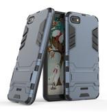 HATOLY iPhone 6 - Robotic Armor Case Cover Cas TPU Case Black + Kickstand - Copy - Copy