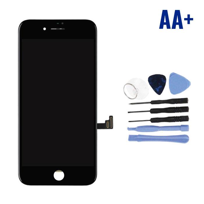 cran iPhone 8 Plus (cran tactile + LCD + PiŠces) AA + Qualit' - Noir + Outils