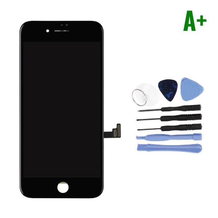 cran iPhone 8 Plus (cran tactile + LCD + PiŠces) A + Qualit' - Noir + Outils