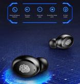 H & A 9D TWS Draadloze Smart Touch Control Oortjes Bluetooth 5.0 Ear Wireless Buds Earphones Earbuds 4000mAh Powerbank Oortelefoon Zwart