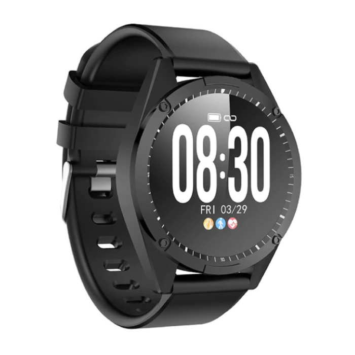 Sport Smartwatch Fitness Sport Activity Tracker Montre Smartphone iOS Android iPhone Samsung Huawei Noir
