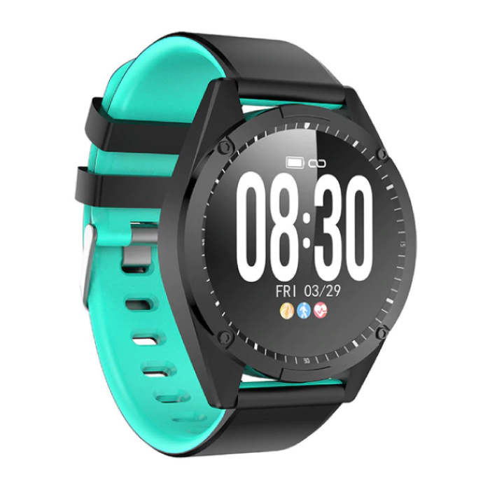 Sports Smartwatch Fitness Sport Activity Tracker Smartphone Watch iOS Android iPhone Samsung Huawei Blue