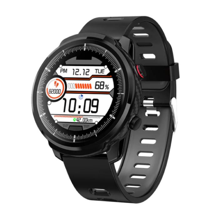 S10 Smartwatch Fitness Sport Aktivität Tracker Smartphone Uhr iOS Android iPhone Samsung Huawei Schwarz