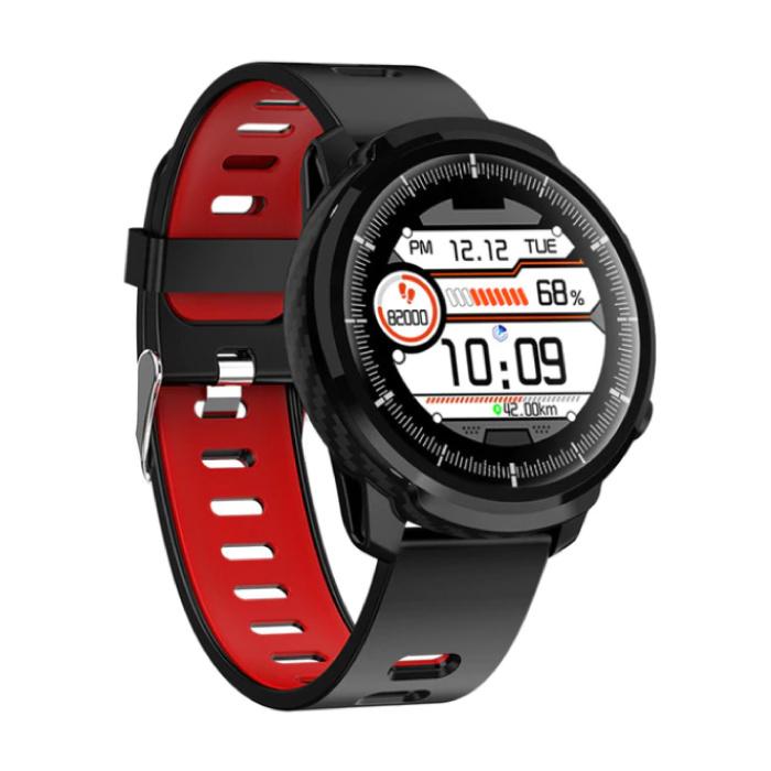 S10 Smartwatch Fitness Sport Aktivität Tracker Smartphone Uhr iOS Android iPhone Samsung Huawei Red