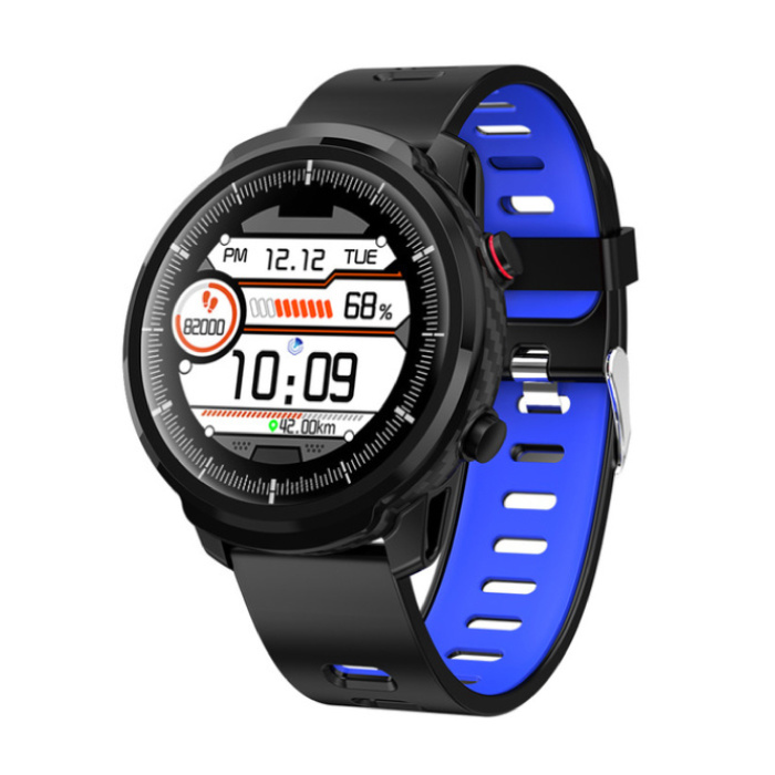 S10 Smartwatch Fitness Sport Activity Tracker Smartphone Watch iOS Android iPhone Samsung Huawei Blue